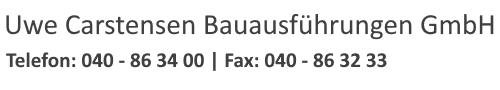 Uwe Carstensen Bauausführungen GmbH